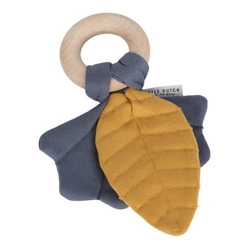 Knister-Spielzeug Blätter Pure & Nature blau