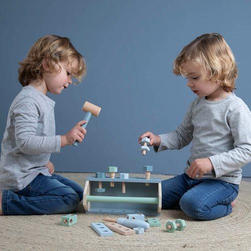 Afbeelding van Kindergereedschapskist 20-delig