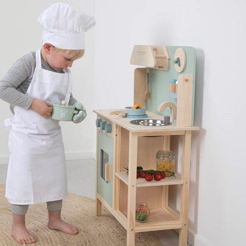 Cuisine enfant verte menthe