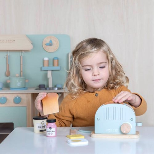 Picture of Wooden Children's toaster set