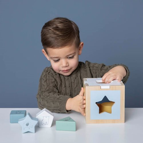 Picture of Shape sorter Zoo blue