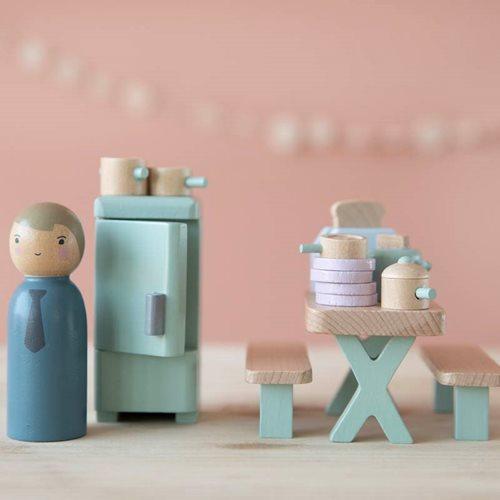 Puppenhaus Spielset Küche