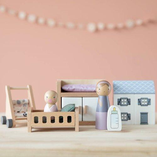 Puppenhaus Spielset Babyzimmer