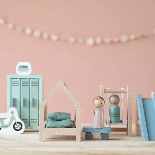 Maison de poupée - série de jeux Chambre d'Enfant