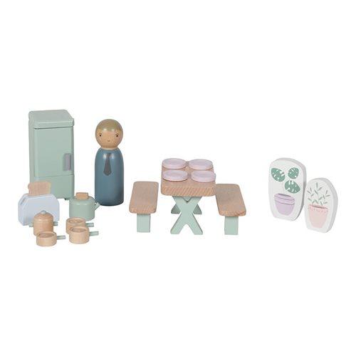 Afbeelding van Poppenhuis speelset Keuken
