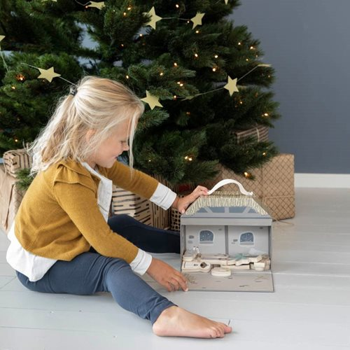 Afbeelding van Speelkoffer kerststal