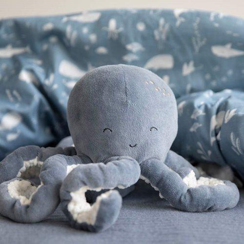 Peluche Pieuvre Ocean Blue