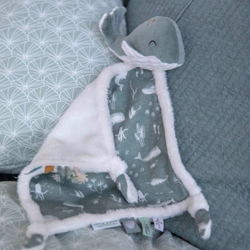 Picture of Cuddle cloth Whale Ocean Mint