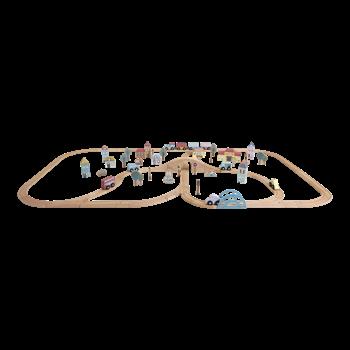 Image pour catégorie Circuit ferroviaire en bois