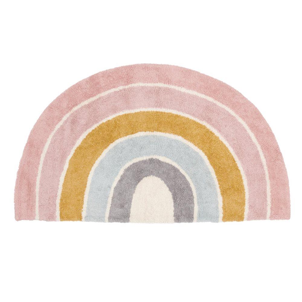 Afbeelding van Vloerkleed Rainbow shape Pure Pink 80x130cm