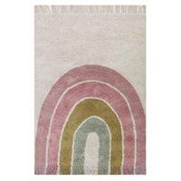 Teppich Rainbow Pink 130 x 90 cm
