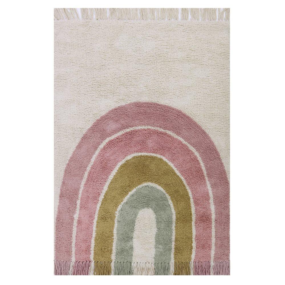 Afbeelding van Vloerkleed Regenboog Pink 130 x 90 cm