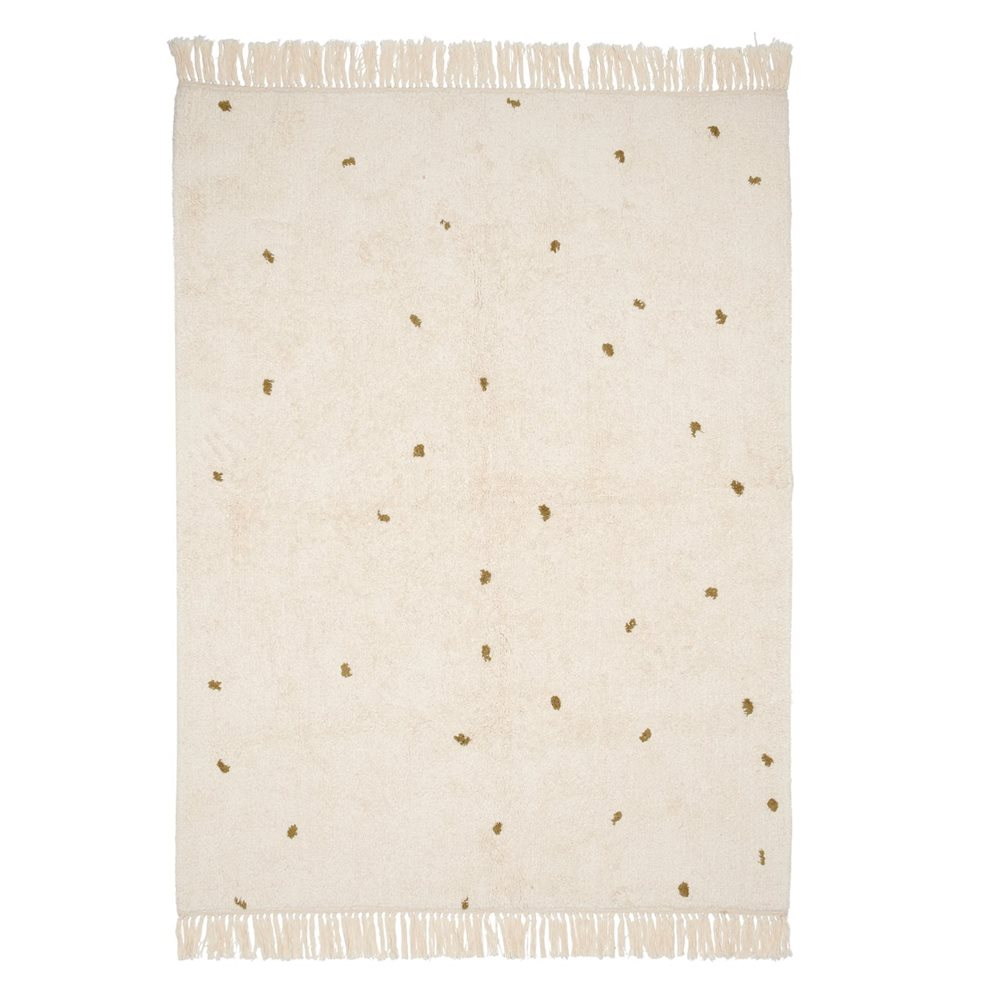 Picture of Rug Dot Pure Natural/Olive 170x120cm