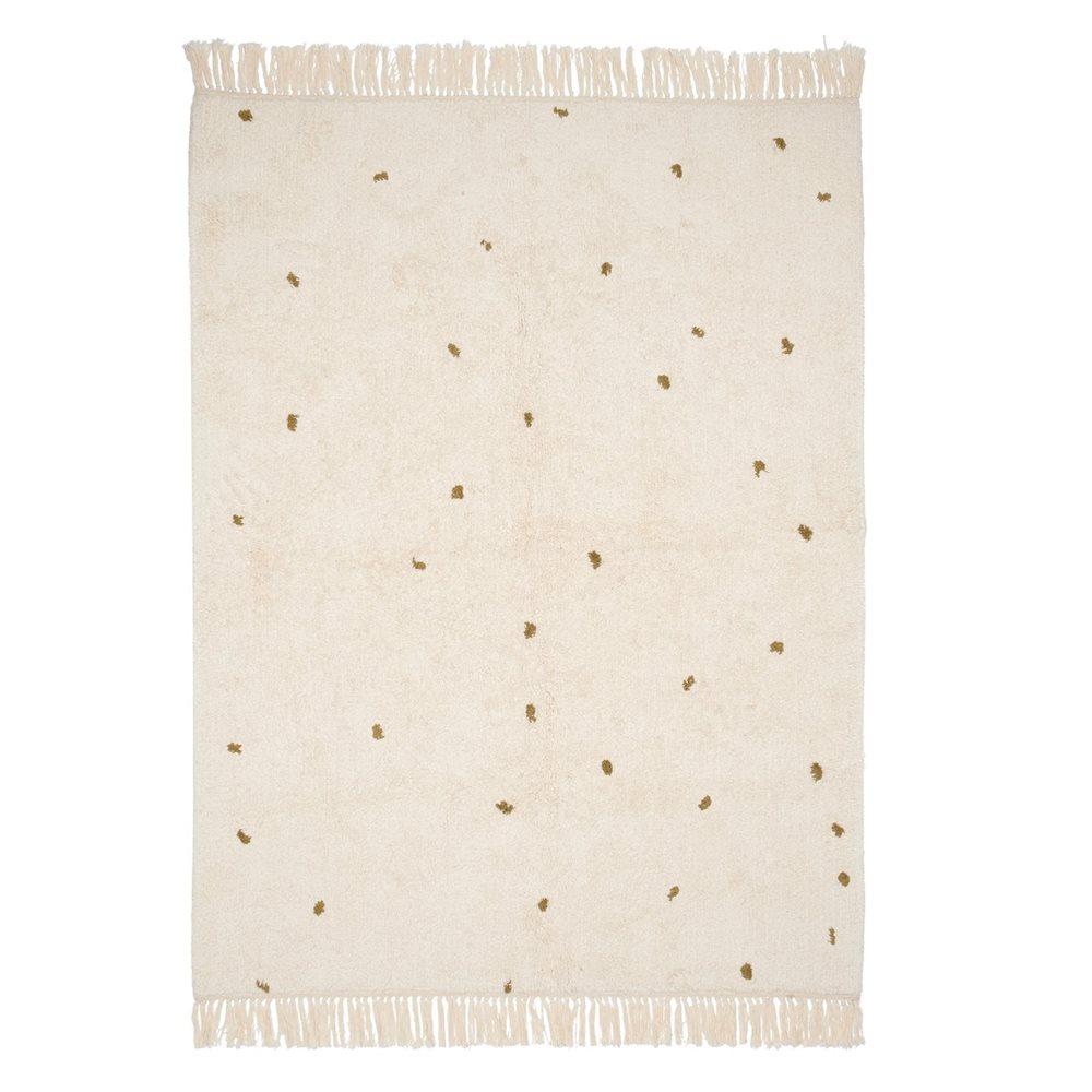 Tapis Dot Pure Natural/Olive 170x120cm