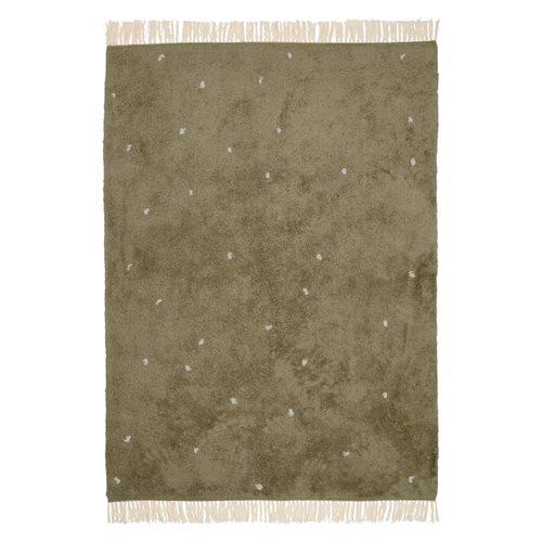 Teppich Dot Pure Olive 170x120cm