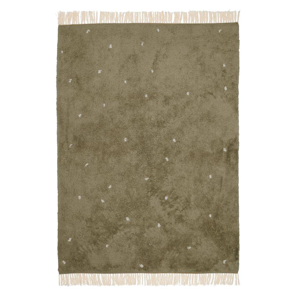 Afbeelding van Vloerkleed Dot Pure Olive 170x120cm