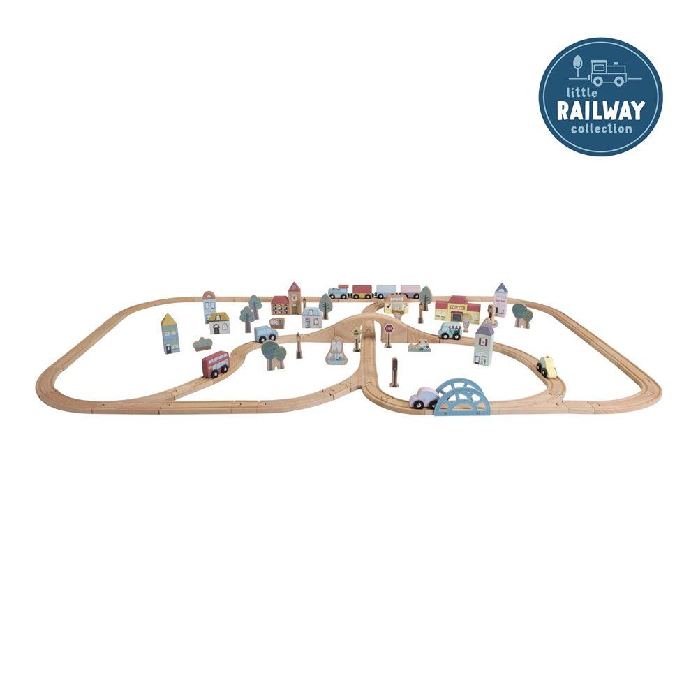 Holzeisenbahn XXL - Starter-Set