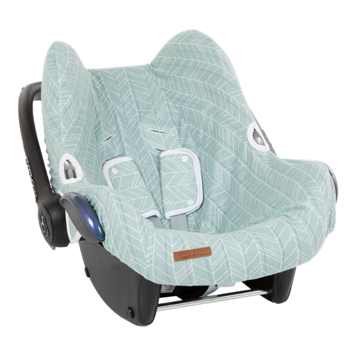 Picture of Car seat 0+ cover Mint Leaves
