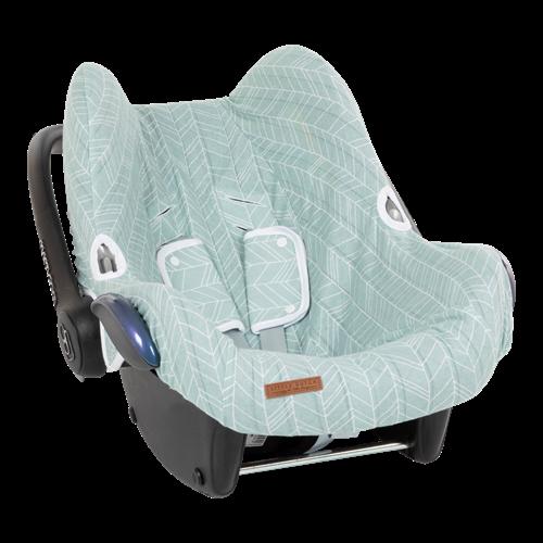 Housse de protection pour siège-auto 0+ Mint Leaves