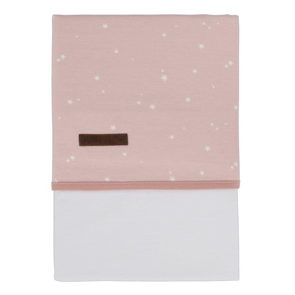 Drap de lit bébé Little Stars Pink