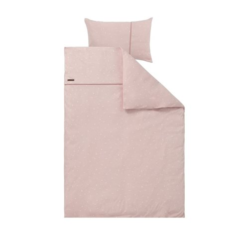 Picture of Cot blanket cover Little Stars Pink