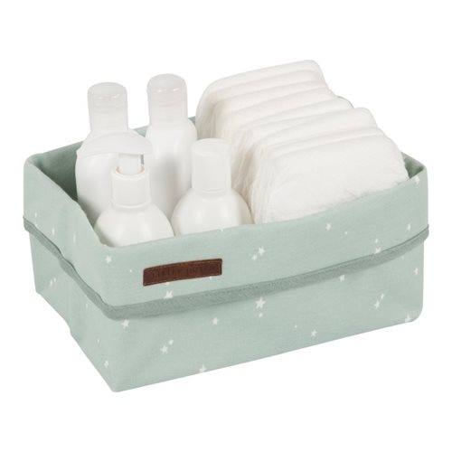 Picture of Storage basket, large Little Stars Mint