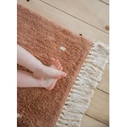 Teppich Dot Pure Rust 170x120cm