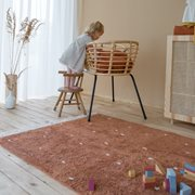 Picture of Rug Dot Pure Rust 170x120cm