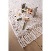 Teppich Dot Pure Natural/Olive 170x120cm