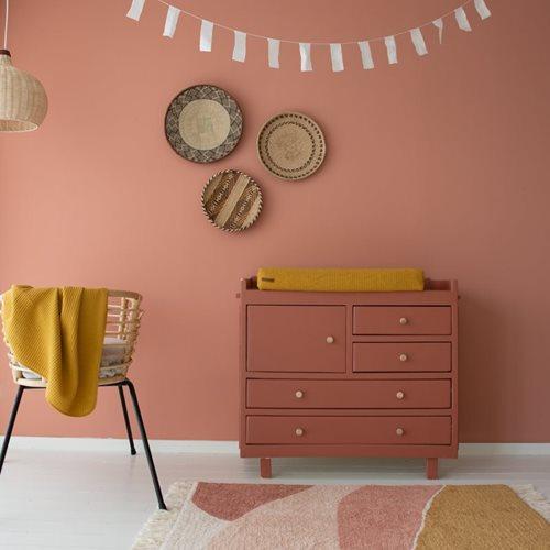 Teppich Horizon Pink 130x90cm