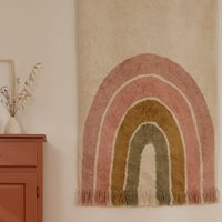 Picture of Rug Rainbow Pink 130 x 90 cm