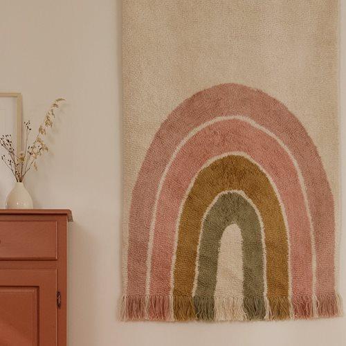Tapis Arc-en-Ciel Rose 130 x 90 cm