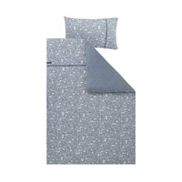 Housse de couette lit simple Adventure Blue