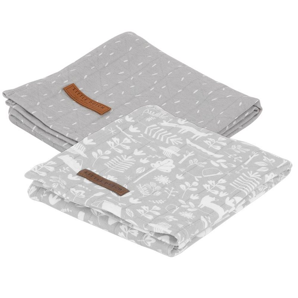 Picture of Muslin cloths 70 x 70 Adventure Grey