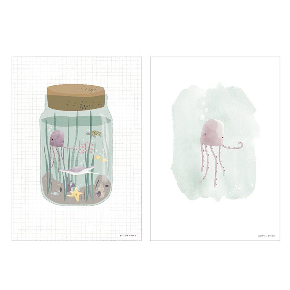 Poster Mini Ocean Jar