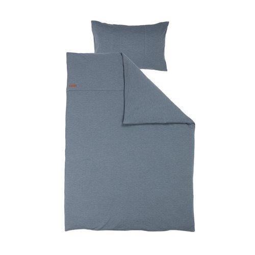 Housse de couette lit simple Pure Blue