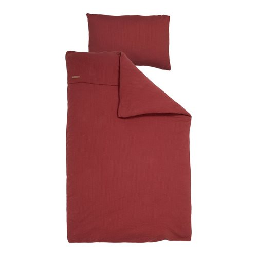 Picture of Single duvet cover Pure Indian Red