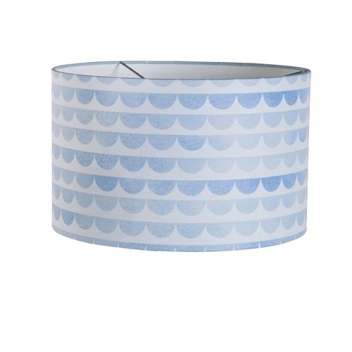 Picture of Pendant light Silhouette Blue Waves