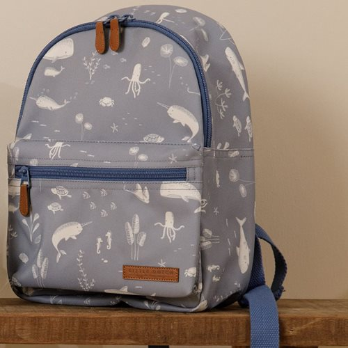 Picture of Kids backpack Ocean blue