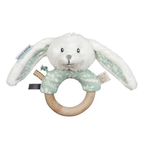 Picture of Ring rattle rabbit Adventure mint