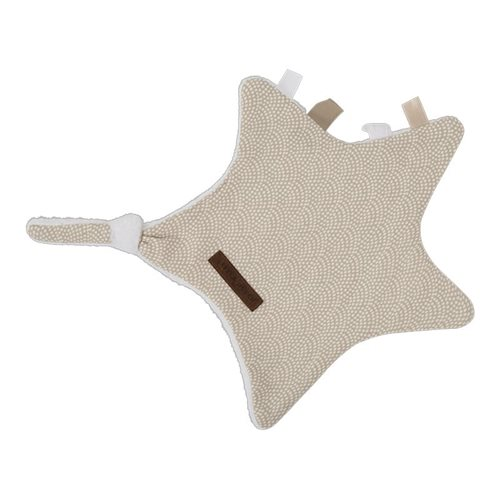 Picture of Cuddle cloth, star Beige Waves
