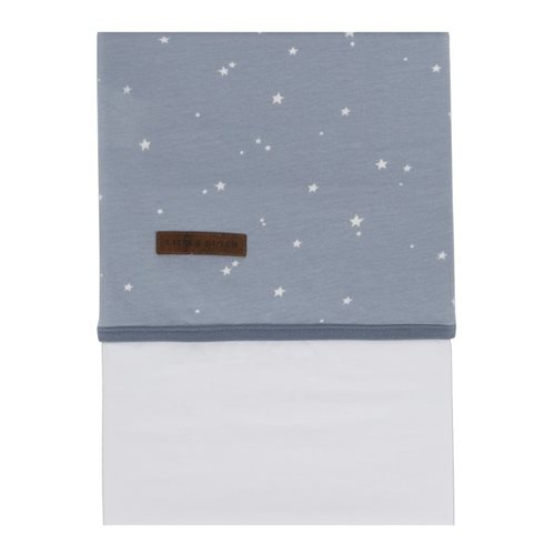 Wiegelaken Little Stars Blue