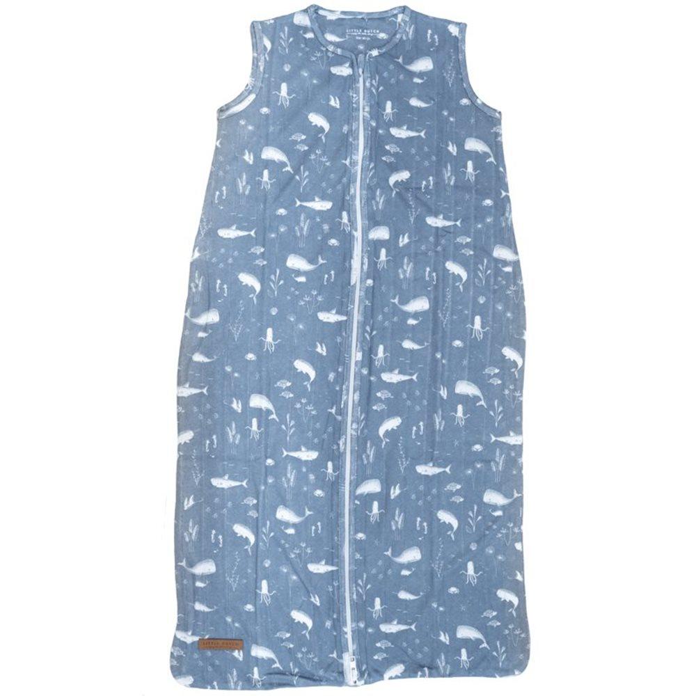 Hydrophiler Schlafsack Sommer 110 cm Ocean Blue