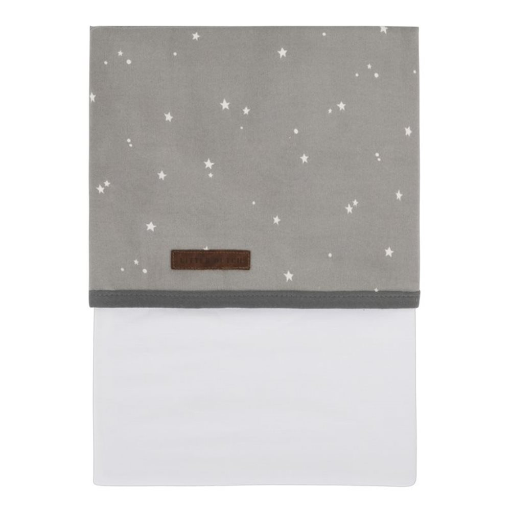Picture of Bassinet sheet Little Stars Grey