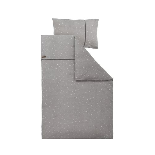 Picture of Cot blanket cover Little Stars Grey