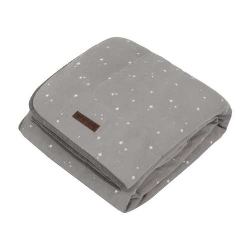 Kinderbettdecke Little Stars Grey
