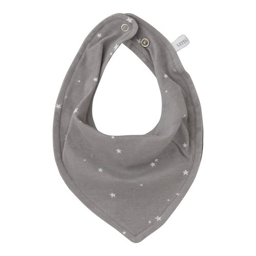 Bandana Lätzchen Little Stars Grey