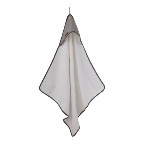 Picture of Hooded towel Little Stars Grey