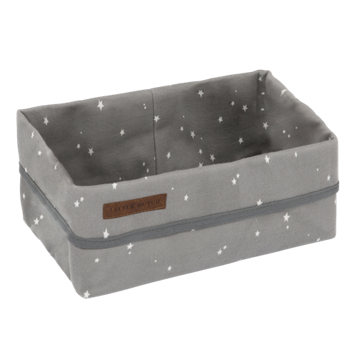Picture of Storage basket, large Little Stars Grey
