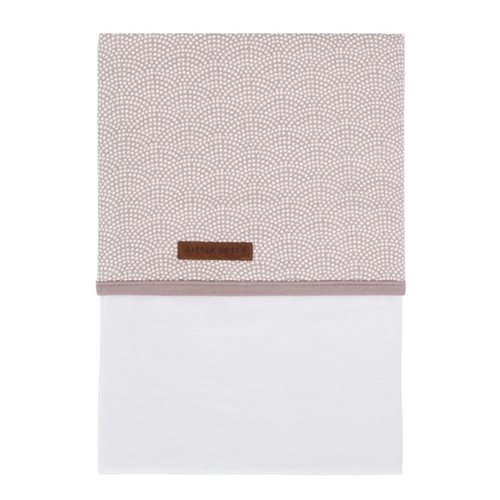 Picture of Bassinet sheet Mauve Waves